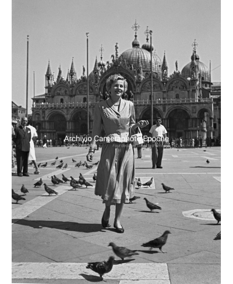 Joan Fontaine - A Walk In St. Mark Square