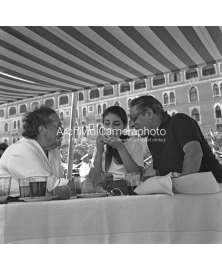 With Callas and Onassis