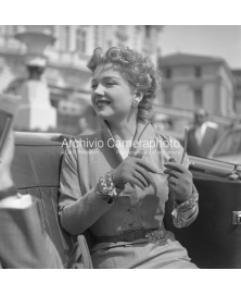 Close-up Of Anne Baxter
