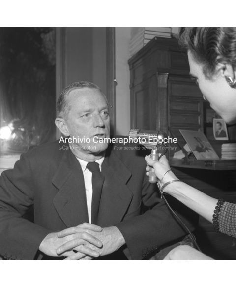 Erskine Caldwell - Granting An Interview