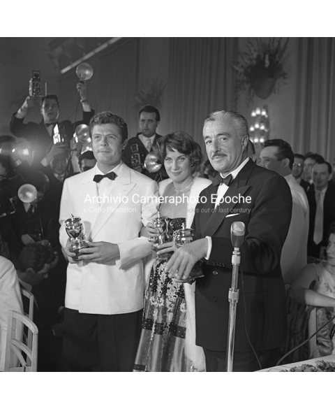 Vittorio De-Sica - Prize-Giving