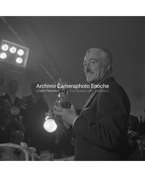 Vittorio De Sica - During A Prize Giving