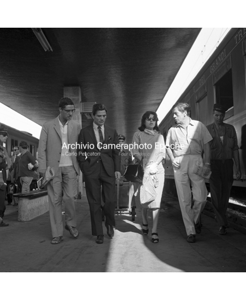 Pierpaolo Pasolini - At The Railway Station