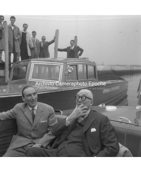 Le Corbusier - On A Water Taxi
