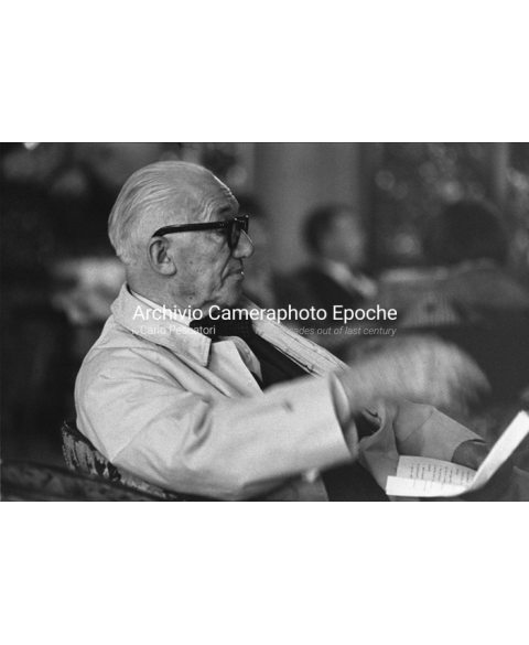 Le Corbusier - Portrait From The Side