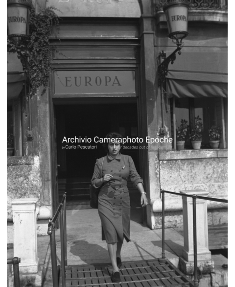 Anna Magnani - Outside Her Hotel