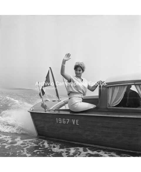 Rosanna Schiaffino - On A Water Taxi