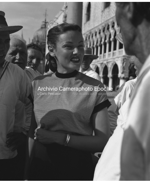 Gene Tierney - In St. Mark Square