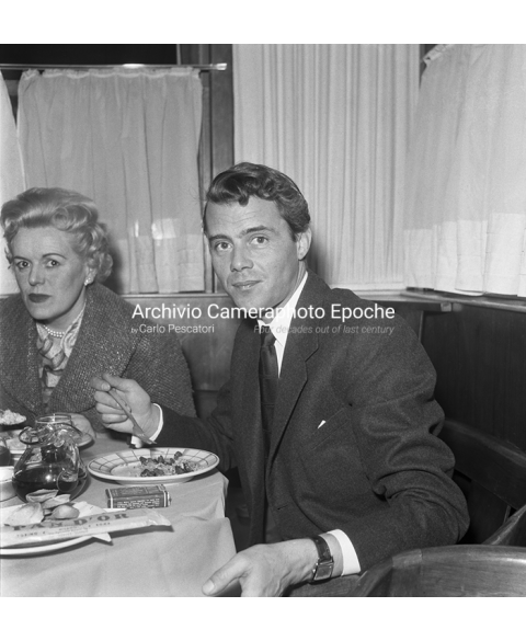 Dirk Bogarde - At The Restaurant