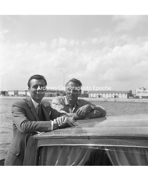 Dirk Bogarde - On A Water Taxi Ride