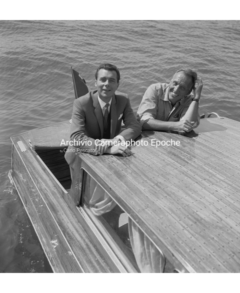 Dirk Bogarde - On A Water Taxi