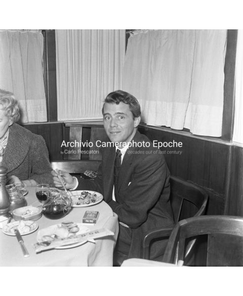 Dirk Bogarde - While Eating